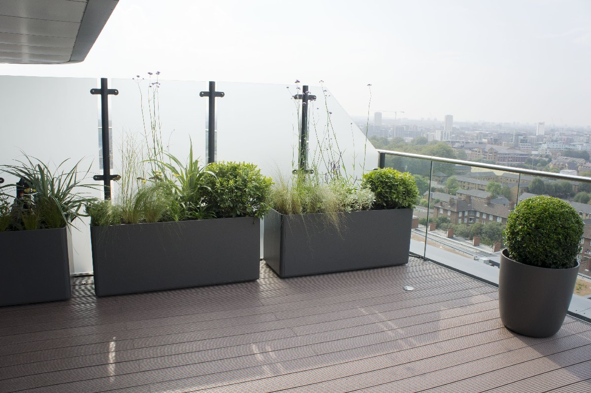 Roof Terrace Design Roof Terrace Planters Outdoor