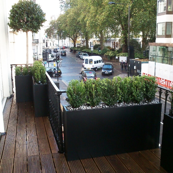 Bespoke planters small Balcony London
