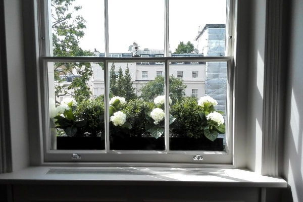 Bespoke window box