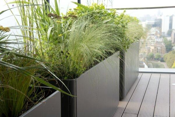 Fibrecement designer planters