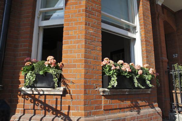 Outdoor Artificial Plants Roof Terrace Design Window Boxes