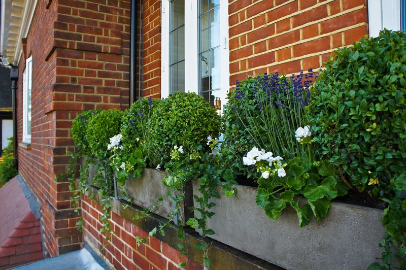 Window boxes London Window Boxes Garden Planters Landscape