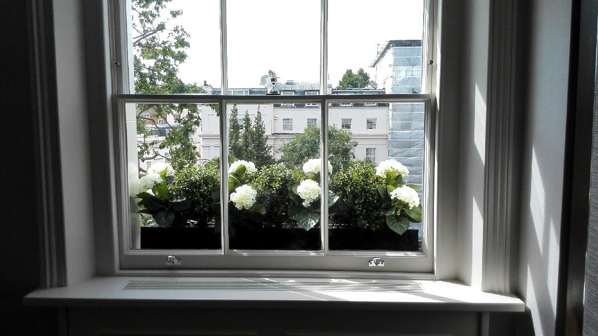 Bespoke window box